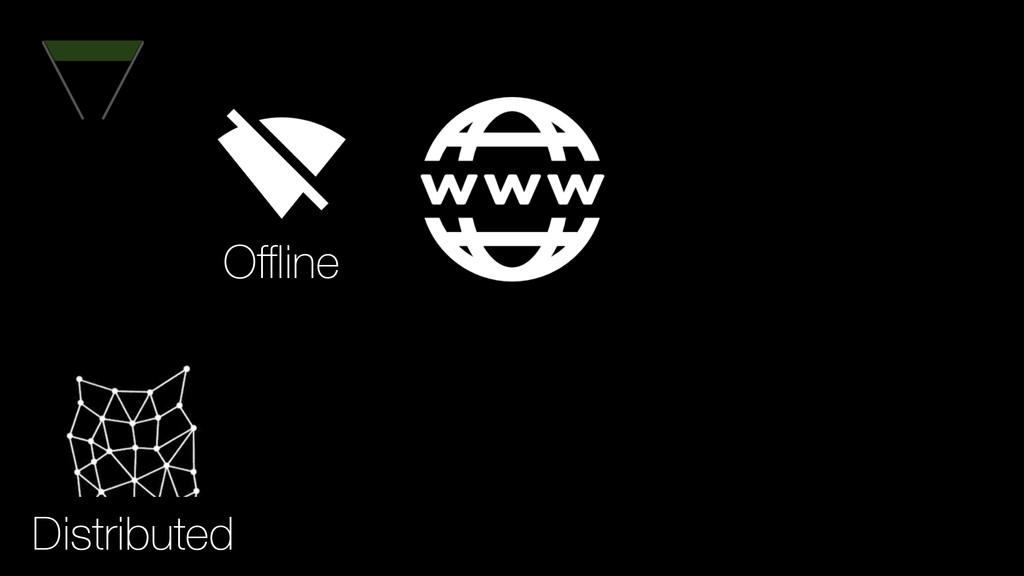 Distributed Offline