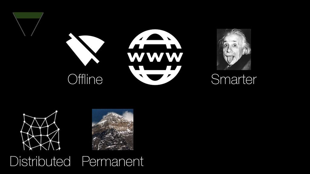 Permanent Distributed Smarter Offline