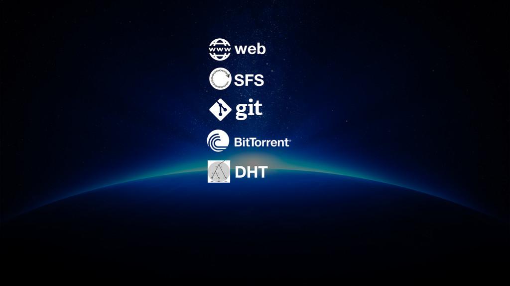SFS web DHT