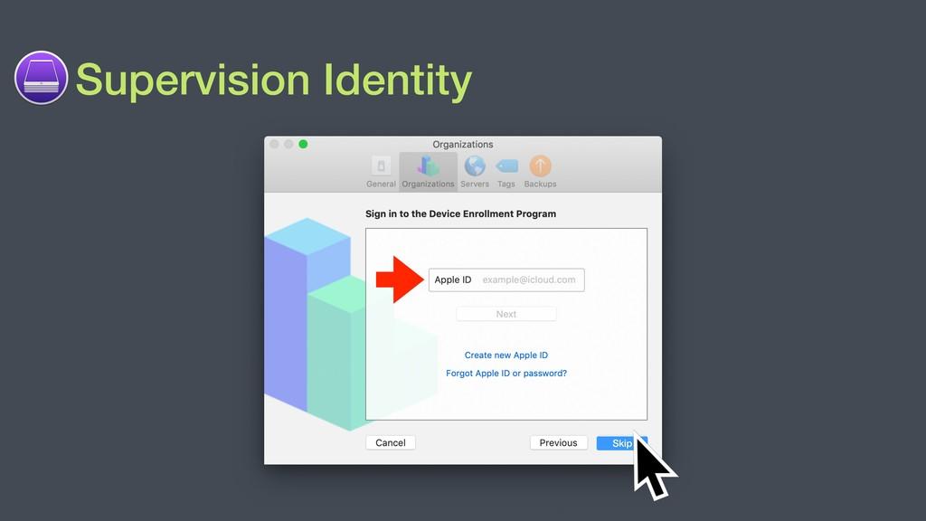 Supervision Identity Skip
