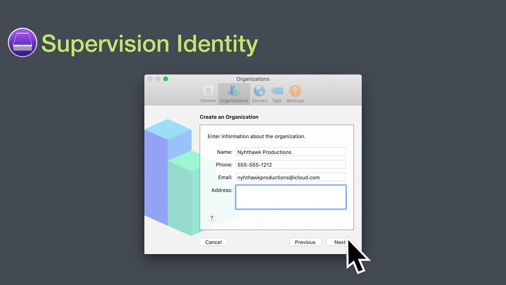Supervision Identity
