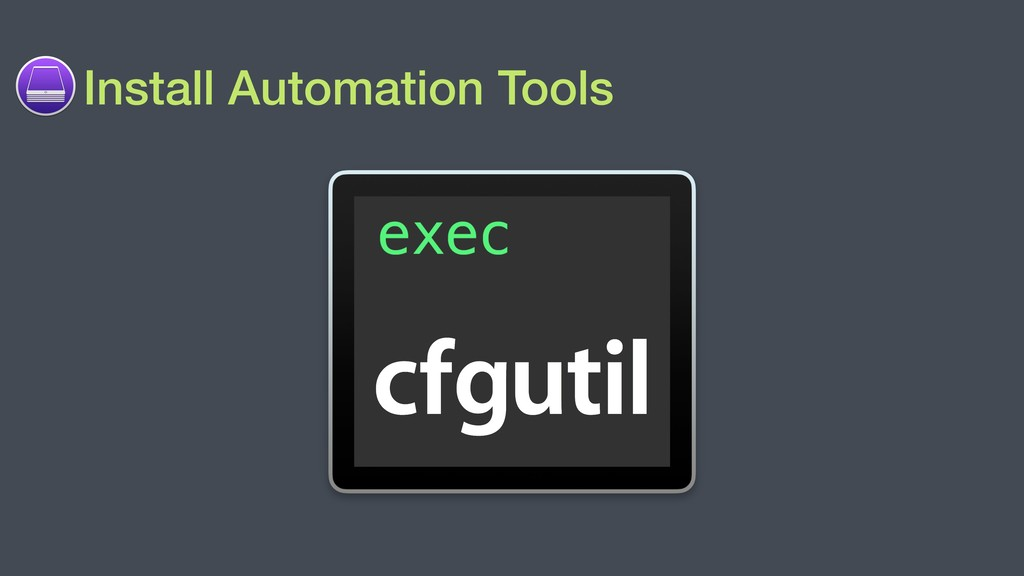 Install Automation Tools