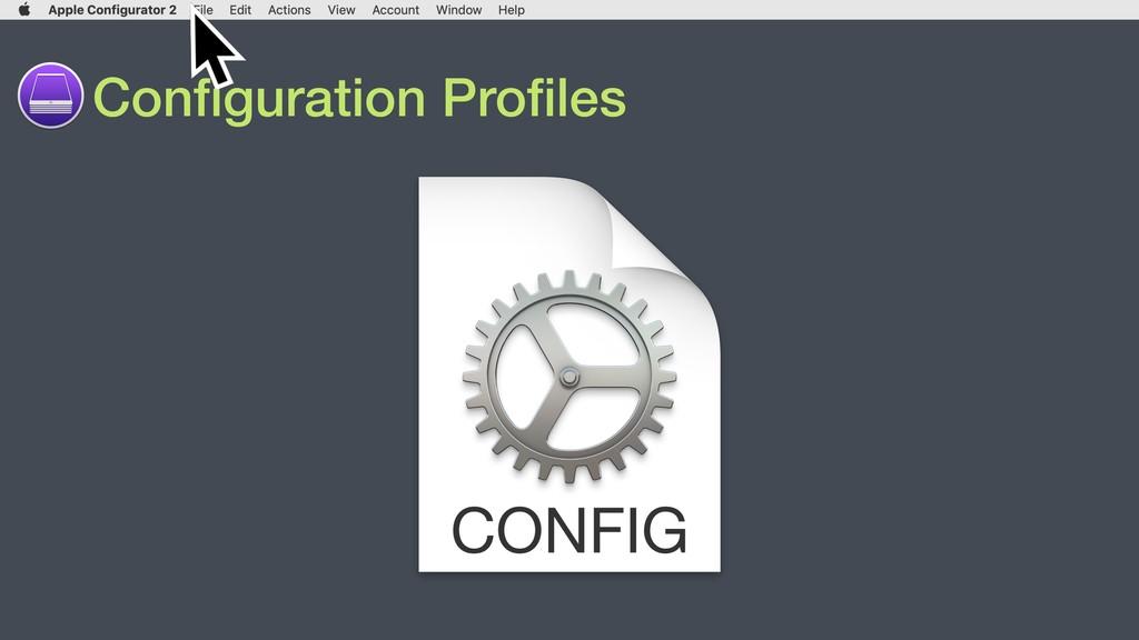 Configuration Profiles