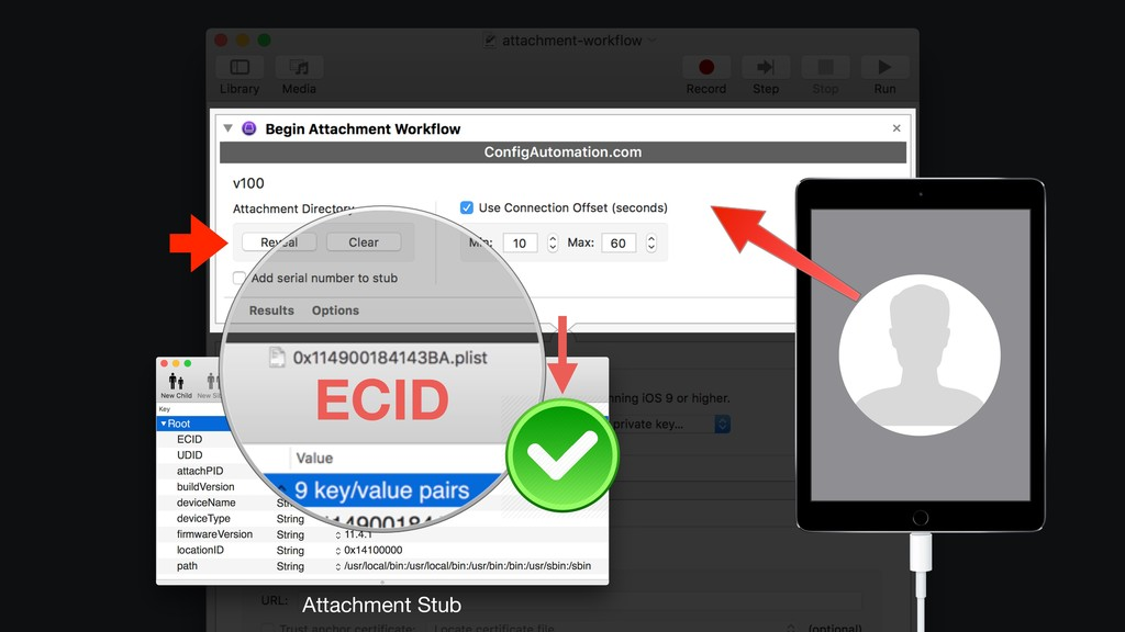 Attachment Stub ECID