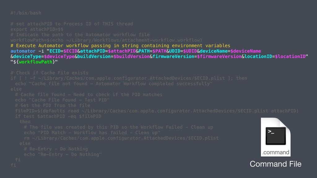 #!/bin/bash # set attachPID to Process ID of TH...