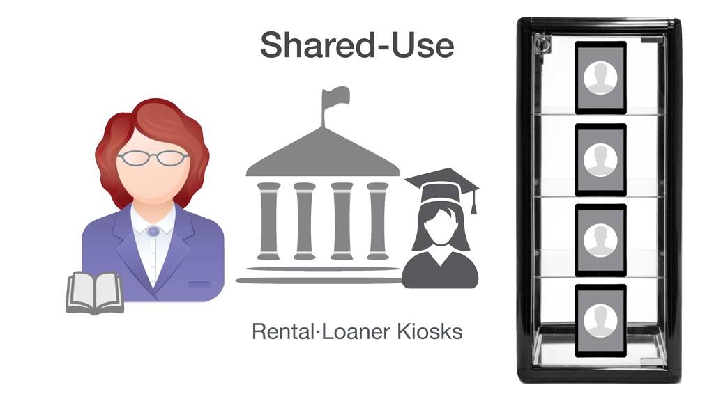 Shared-Use Rental·Loaner Kiosks