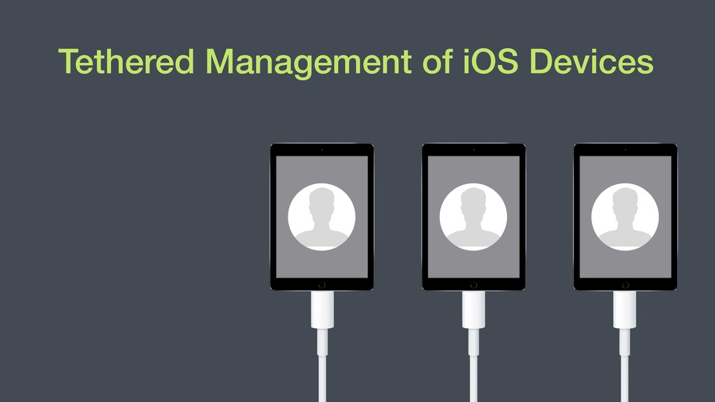 Tethered Management of iOS Devices