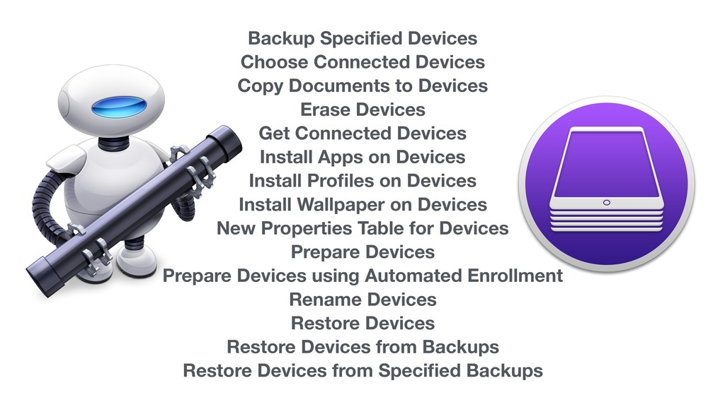 Backup Specified Devices Choose Connected Device...