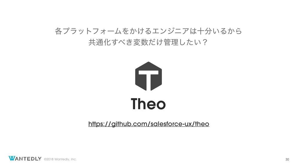 ©2018 Wantedly, Inc. Theo https://github.com/sa...