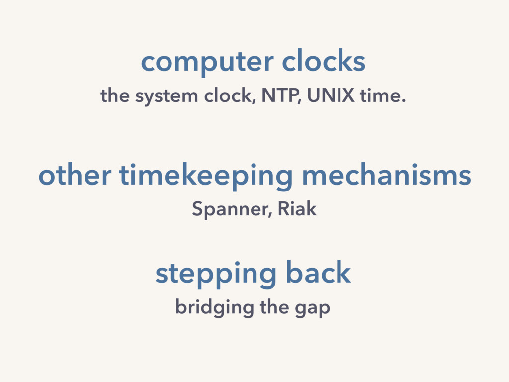 computer clocks the system clock, NTP, UNIX tim...