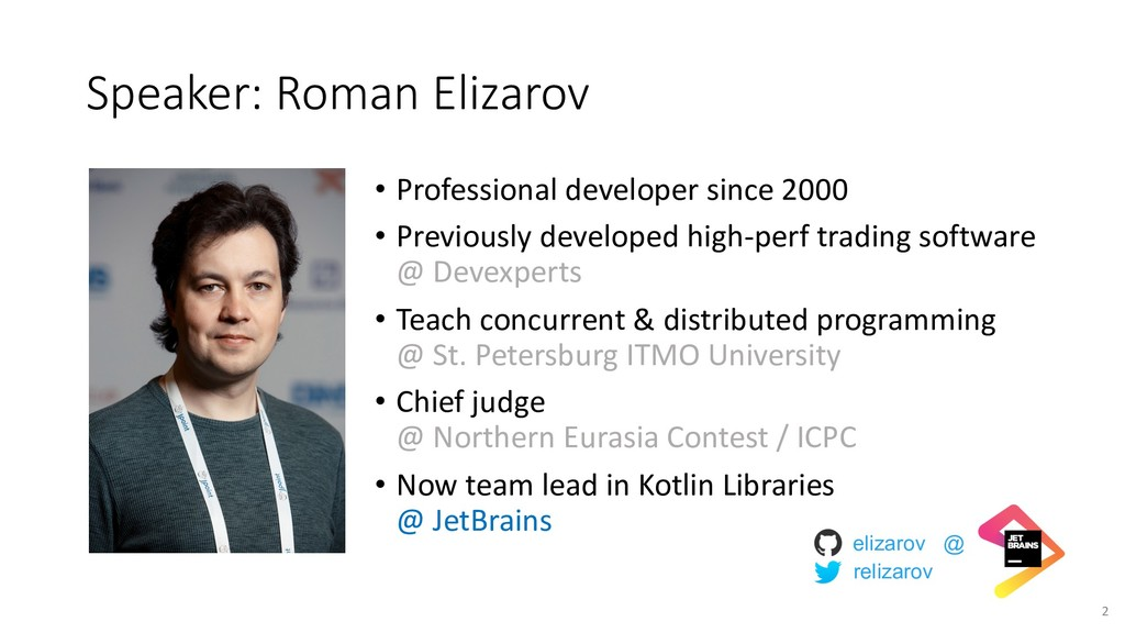 Speaker: Roman Elizarov • Professional develope...