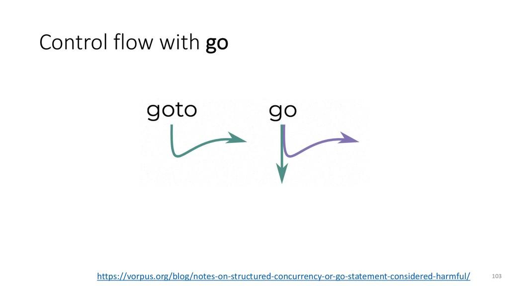 Control flow with go 103 https://vorpus.org/blo...