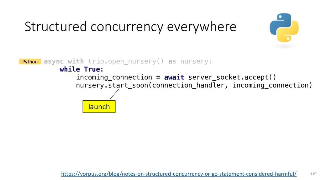 Structured concurrency everywhere 110 async wit...
