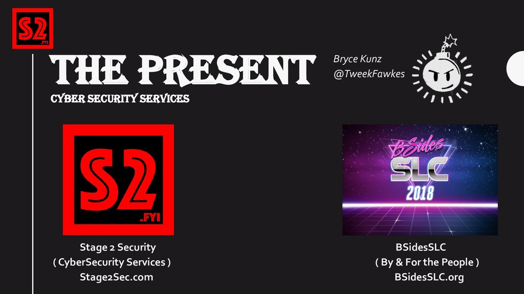 THE PRESENT CYBER SECURITY SERVICES Stage 2 Sec...