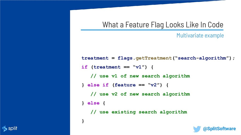 What a Feature Flag Looks Like In Code Multivar...