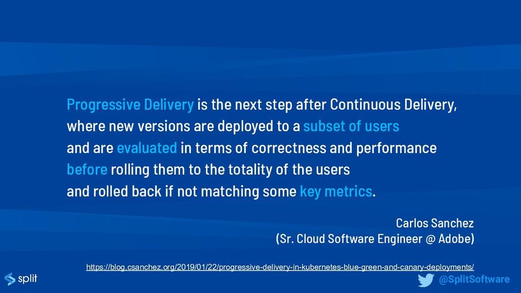 Carlos Sanchez (Sr. Cloud Software Engineer @ A...
