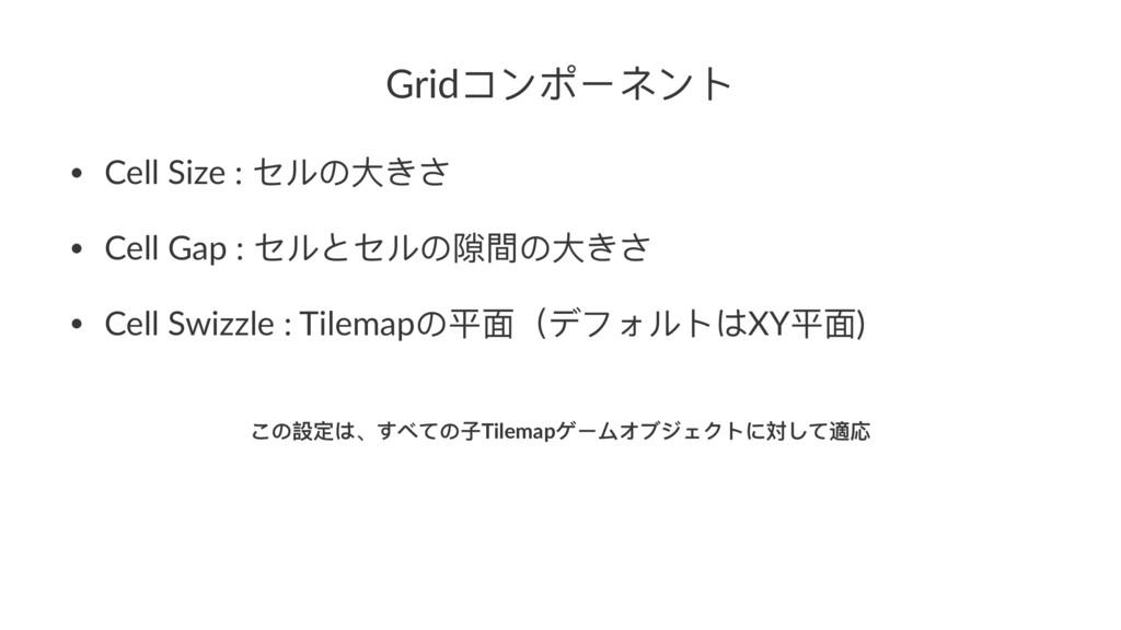 GridπЀϪЄϚЀϕ • Cell Size : ψϸ΄य़ͣͫ • Cell Gap : ψ...