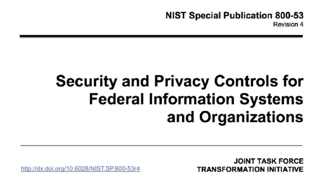 http://dx.doi.org/10.6028/NIST.SP.800-53r4
