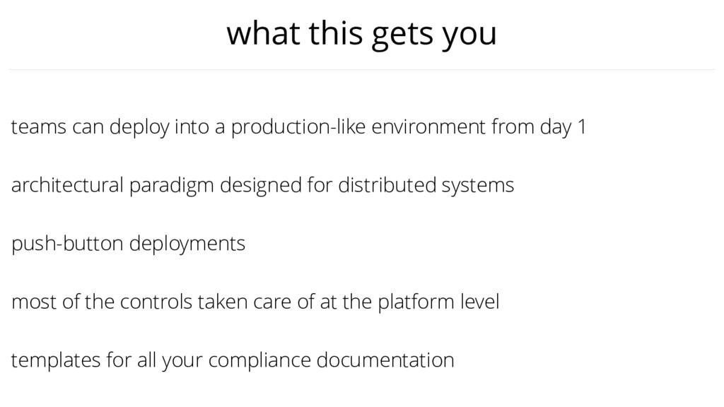 push-button deployments teams can deploy into a...
