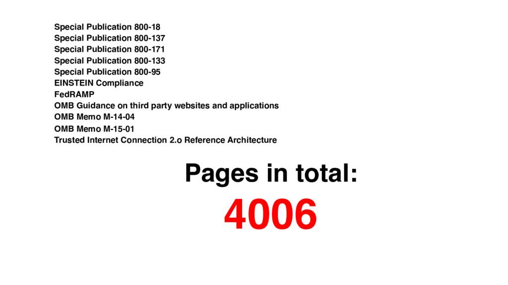 Special Publication 800-18 Special Publication ...