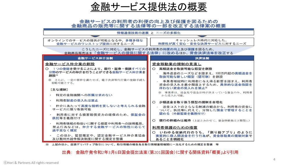 出典: 金融庁発令和2年3月6日国会提出法案(第201回国会)に関する関係資料「概要」より引用...