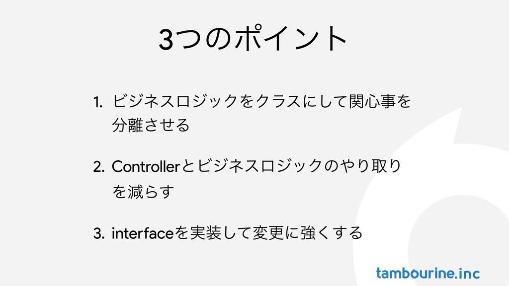 3ͭͷϙΠϯτ 1. ϏδωεϩδοΫΛΫϥεʹͯؔ͠৺Λ ͤ͞Δ 2. Control...