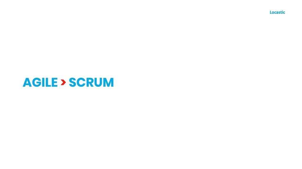AGILE > SCRUM