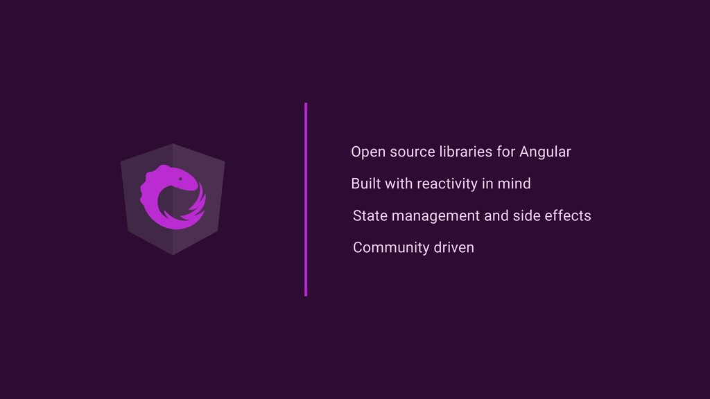 Open source libraries for Angular Built with re...
