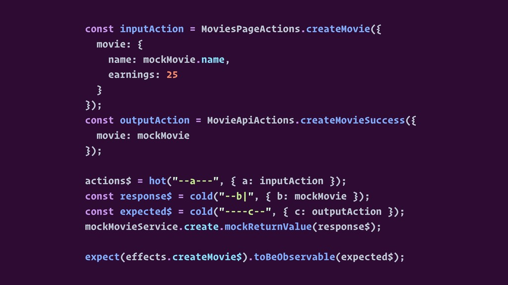 const inputAction = MoviesPageActions.createMov...