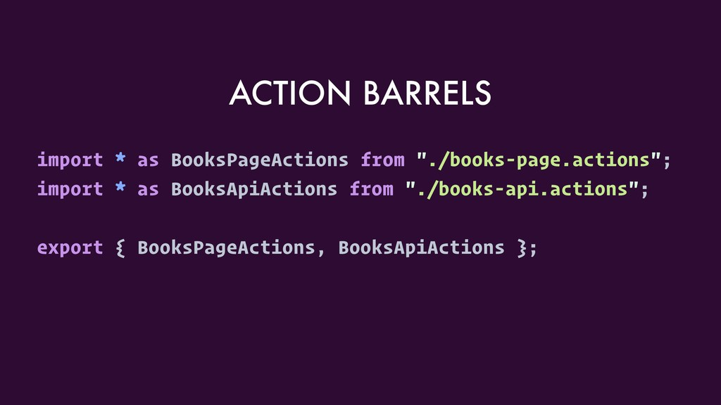"""import * as BooksPageActions from """"./books-page..."""