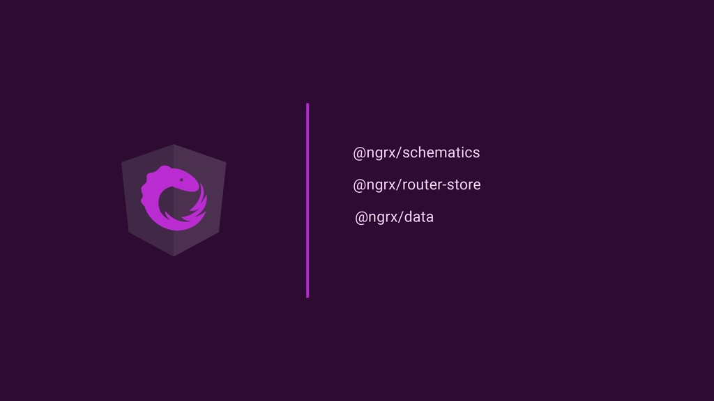 @ngrx/schematics @ngrx/router-store @ngrx/data