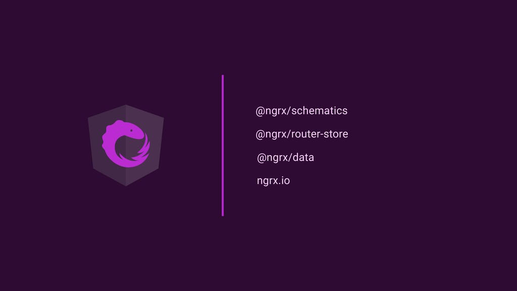@ngrx/schematics @ngrx/router-store @ngrx/data ...