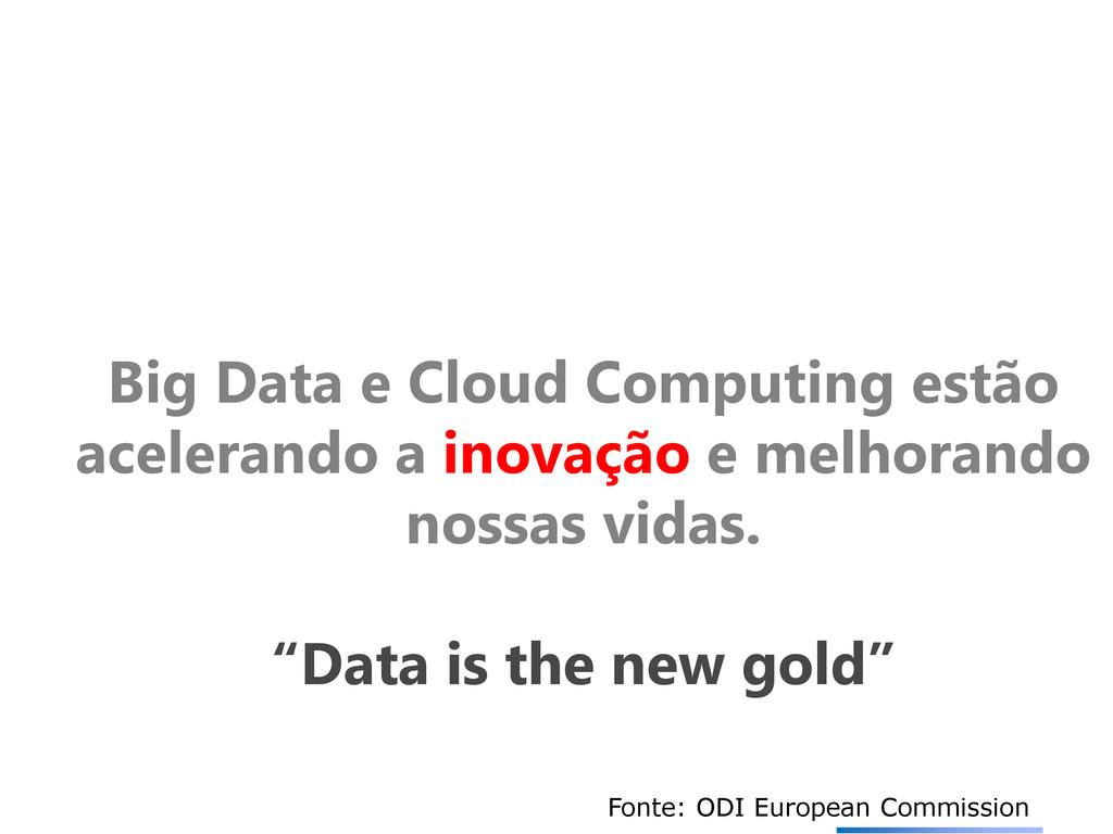 Big Data e Cloud Computing estão acelerando a i...