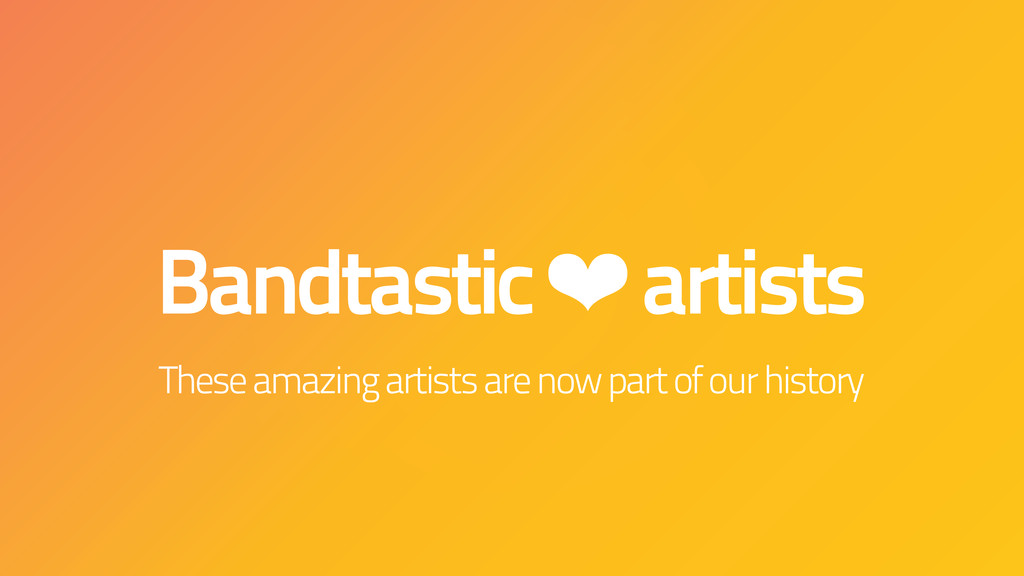 Bandtastic ❤ artists These amazing artists are ...