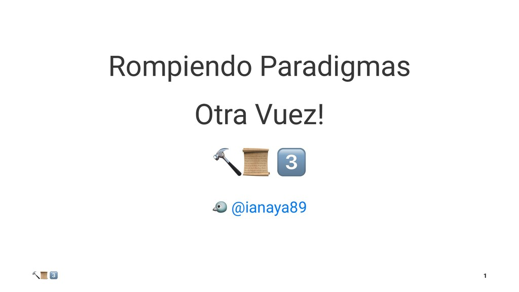 """Rompiendo Paradigmas Otra Vuez! !"""" ! @ianaya89 ..."""