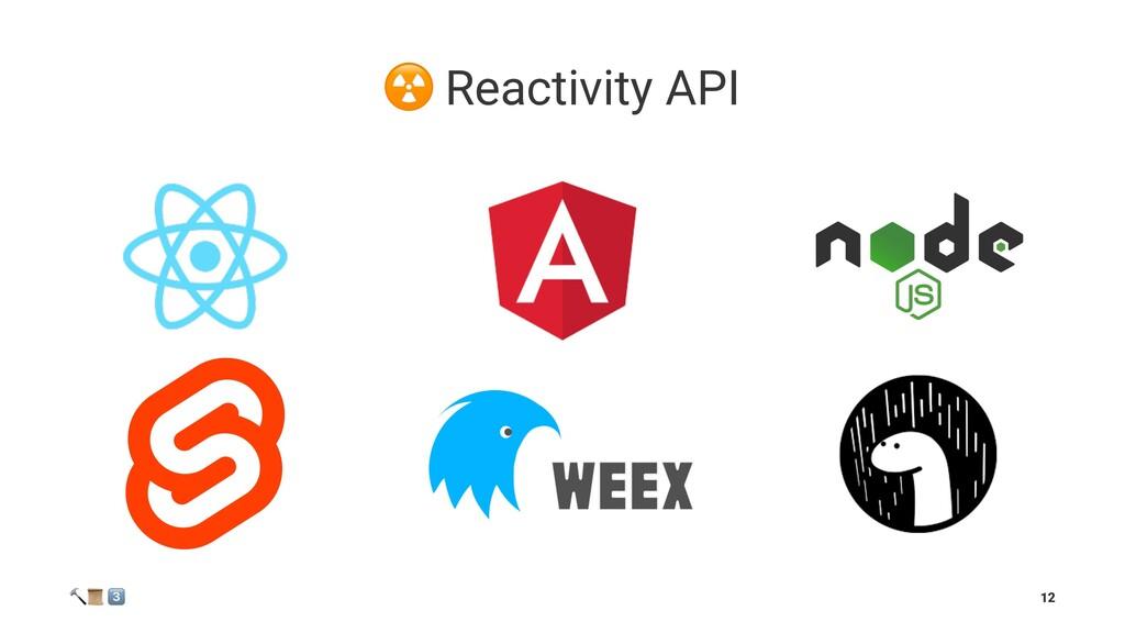 """☢ Reactivity API ! """" # 12"""