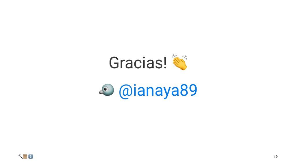 """Gracias! ! @ianaya89 ! """" # 19"""
