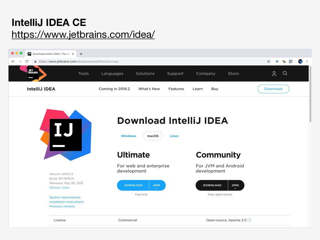 IntelliJ IDEA CE https://www.jetbrains.com/ide...
