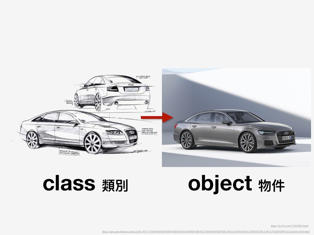 class 類別 object 物件 https://auto.epochtimes.com/...