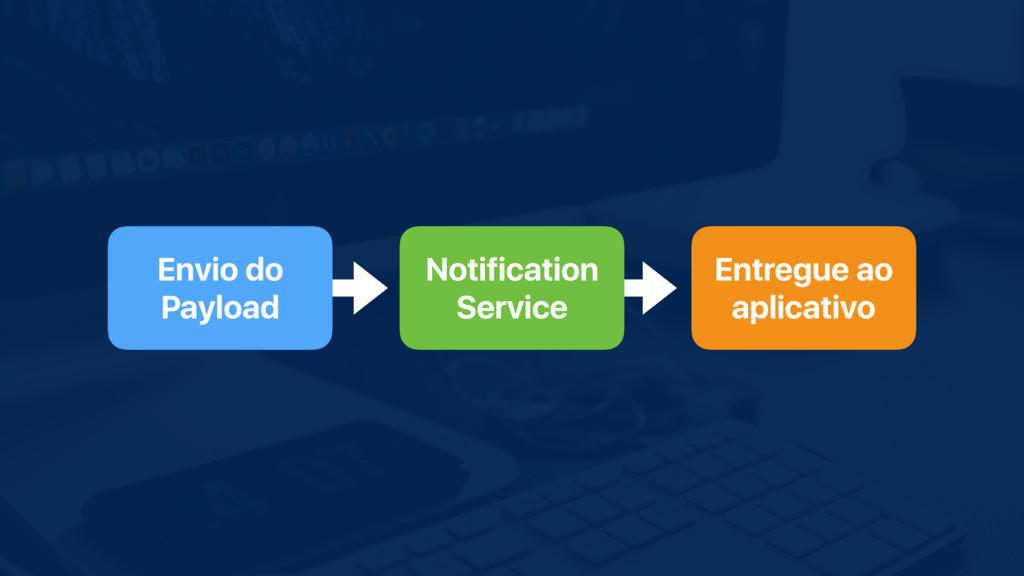 Envio do Payload Notification Service Entregue ...