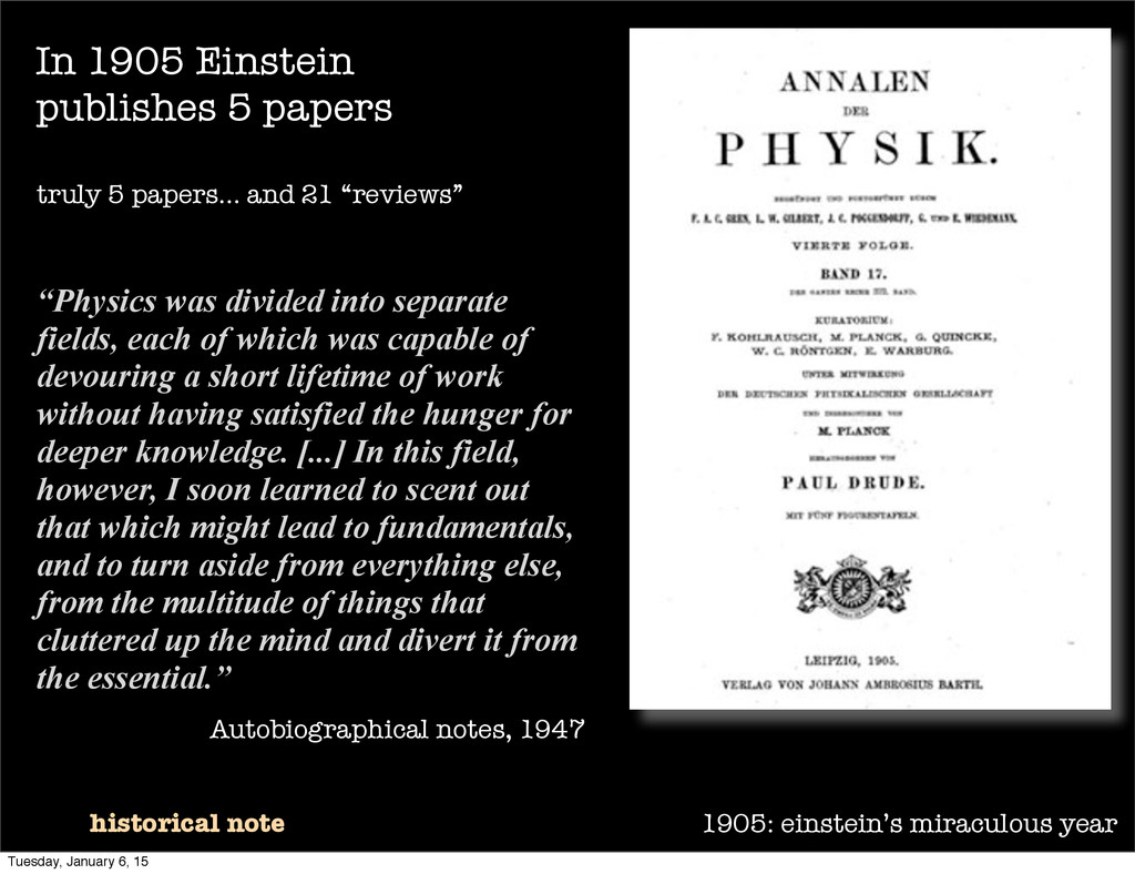 1905: einstein's miraculous year historical not...