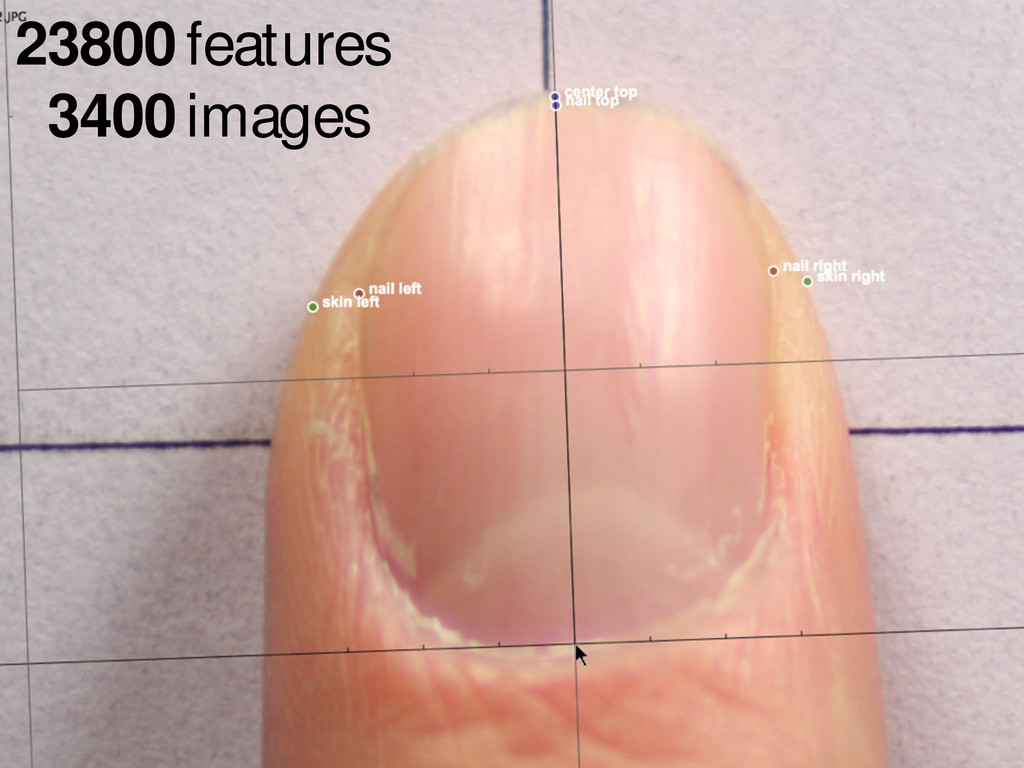 23800 features 3400 images