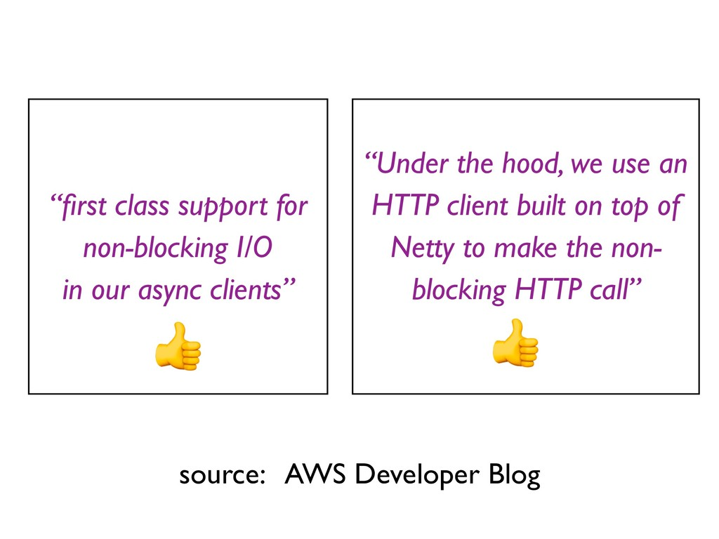 """Under the hood, we use an HTTP client built on..."