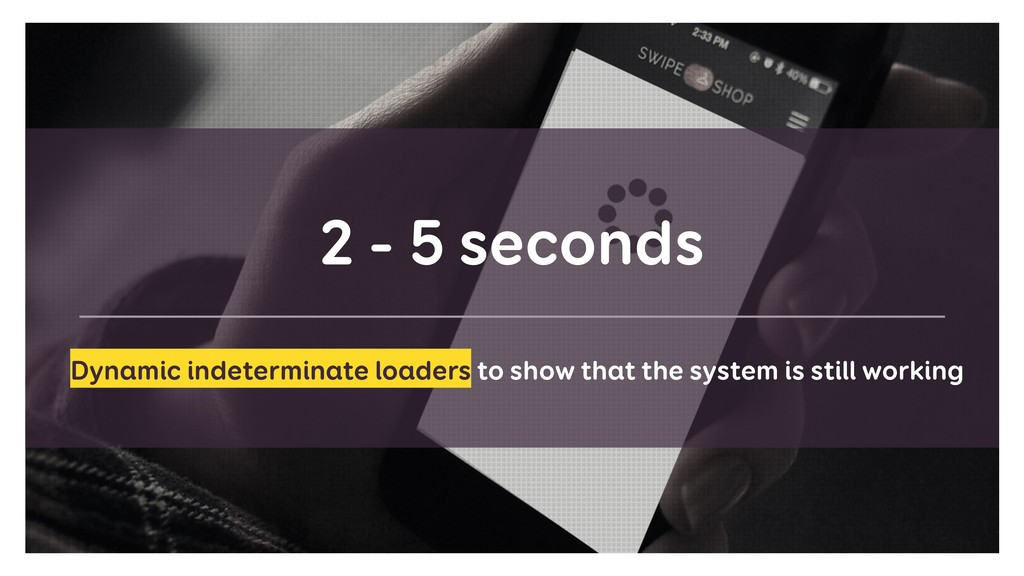 2 - 5 seconds Dynamic indeterminate loaders to ...