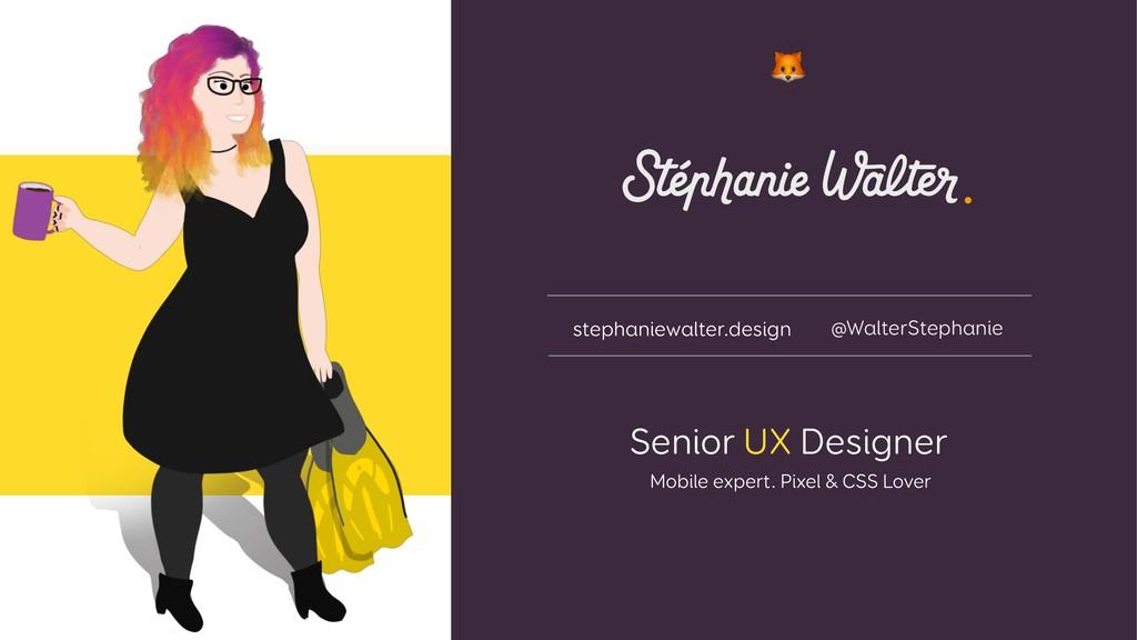 Senior UX Designer Mobile expert. Pixel & CSS L...