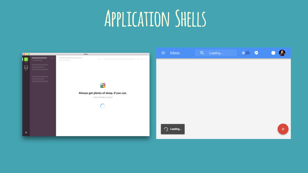 Application Shells