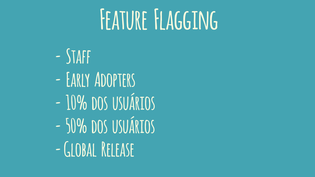 Feature Flagging - Staff - Early Adopters - 10%...