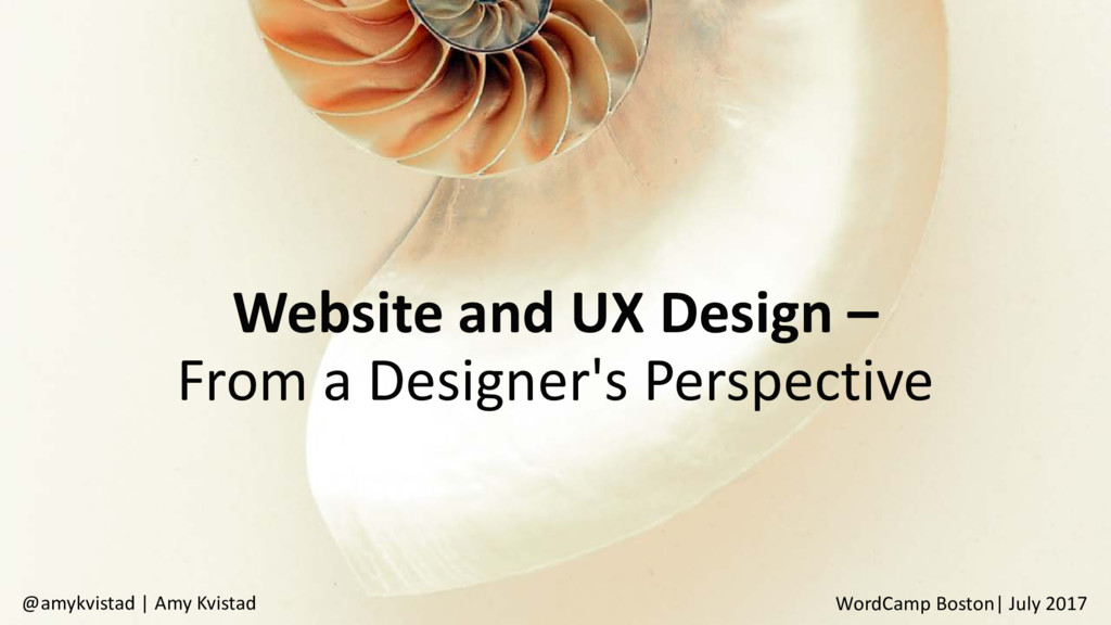 Website and UX Design – From a Designer's Persp...