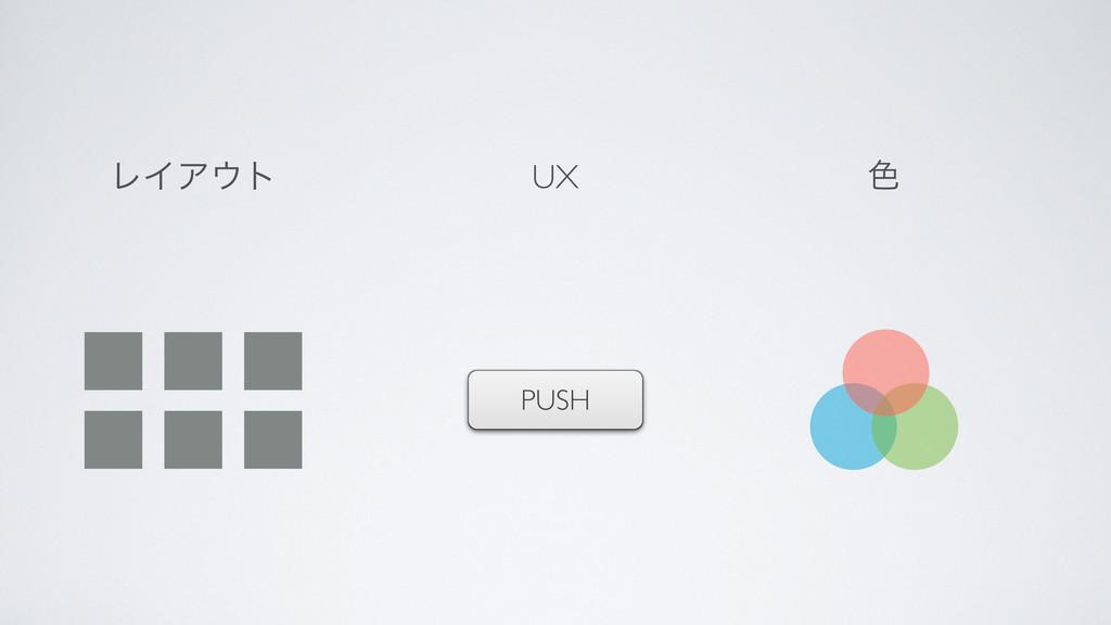 PUSH ϨΠΞτ ৭ UX