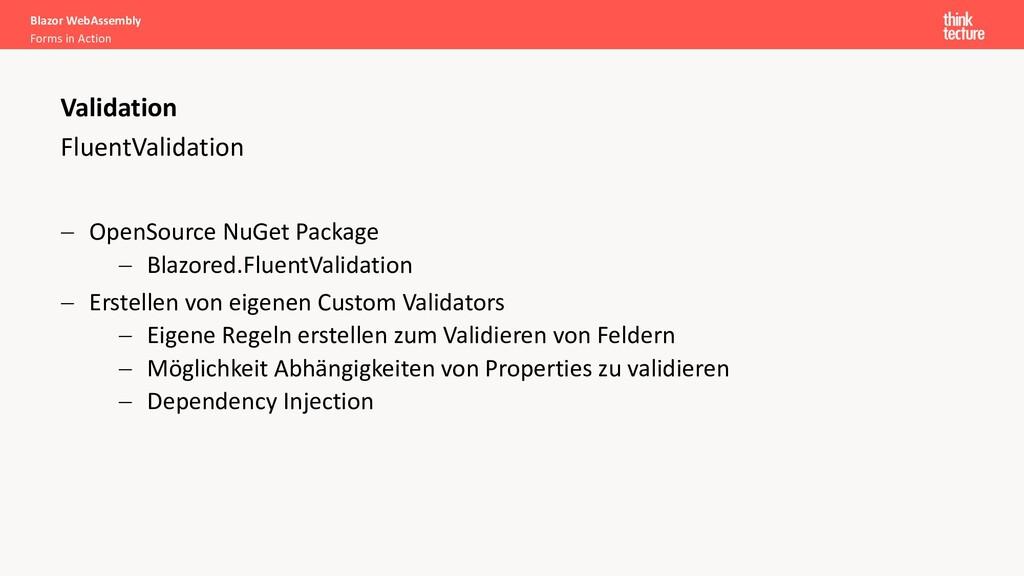 FluentValidation - OpenSource NuGet Package - B...